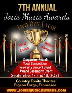 7th Annual Josie Music Awards 2021