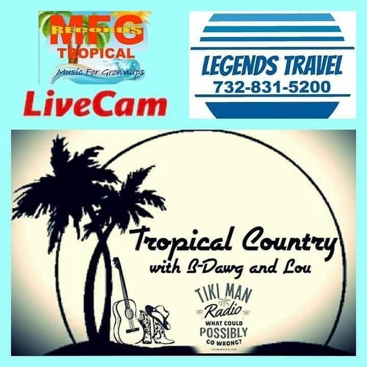 Tropical Country with B-Dawg and Lou, with guest, Donavon Lee Carpenter